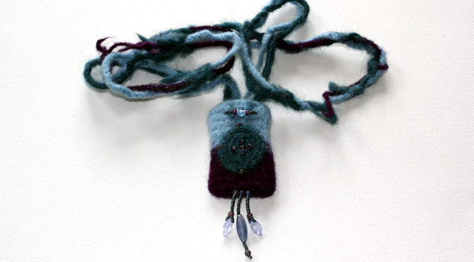 Felted Sculpture That You Wear