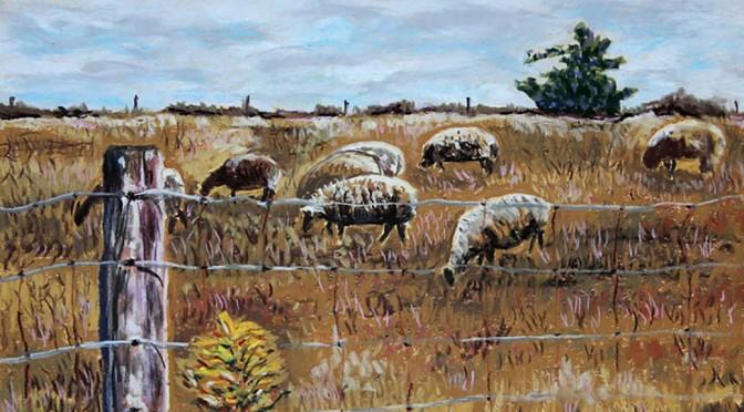 Pastel Paintings Bring Joy