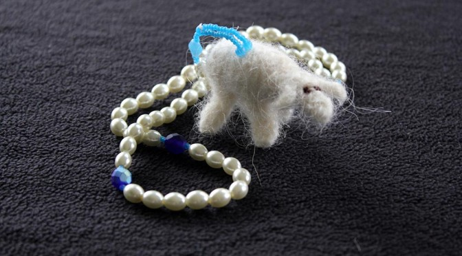 May You Find Peace With Wool Of The Lamb Prayer Beads