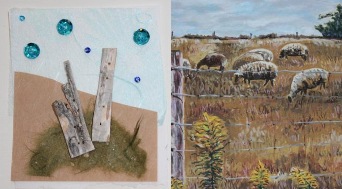 Hand-Made Cards and Pastel Paintings Bring Joy
